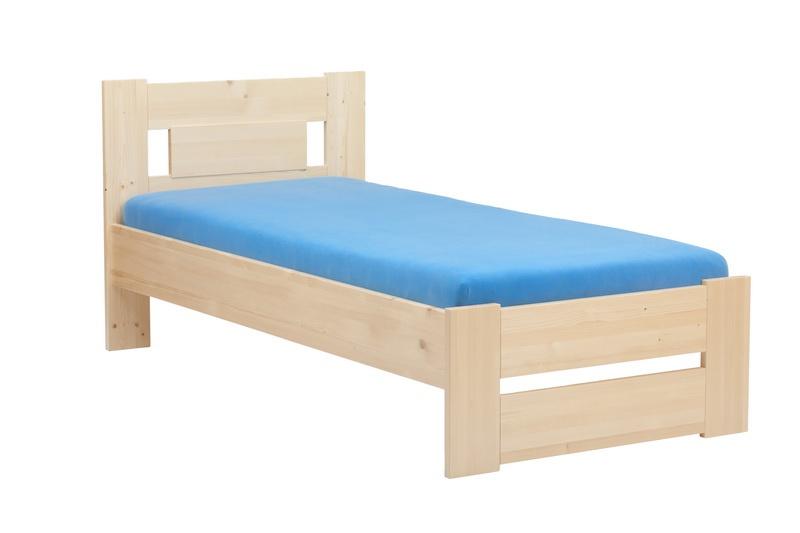 HP nábytek Postel 074S Cameron senior | 90x200 bezbarvý lak + DÁREK + DOPRAVA ZDARMA
