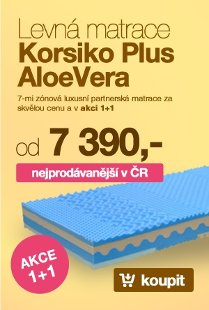 Matrace Korsiko Plus AloeVera