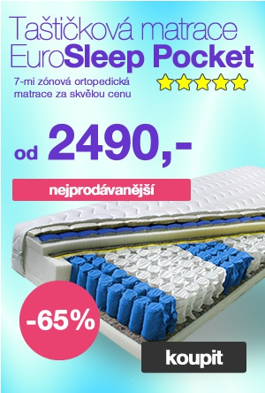 Matrace Eurosleep Pocket