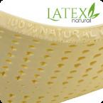 Anatomický polštář PŘÍRODNÍ LATEX Latexový polštář si tak můžete dát pod hlavu jakkoli se vám zlíbí a vždy bude přijemně jemný a díky svým kanálkům také dobře provětrávaný